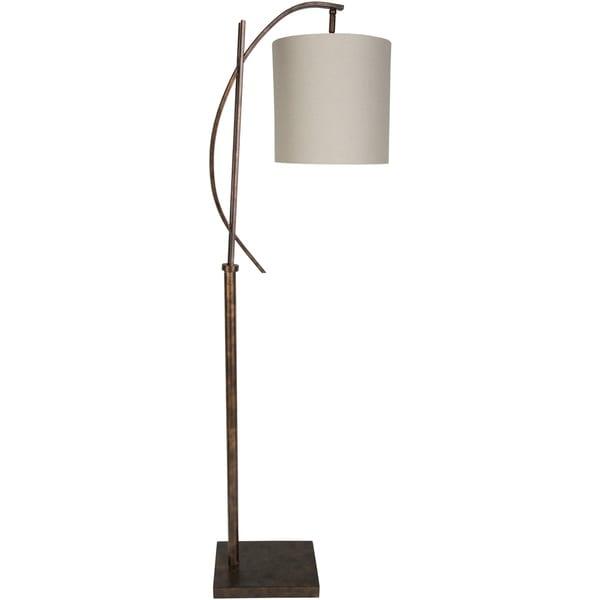 Cabot 65 in. Cream Modern Floor Lamp