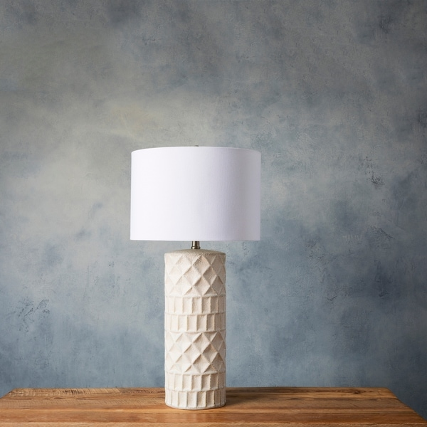 Ajay 31 in. Gray Transitional Table Lamp