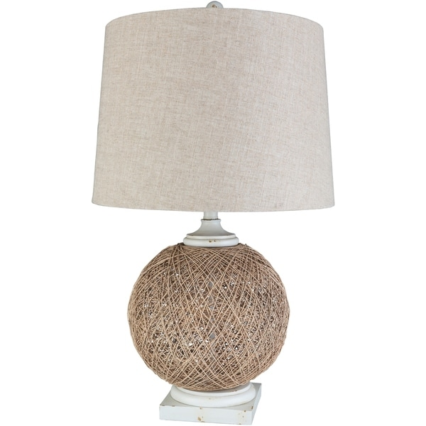 Liberty 29.25 in. White Transitional Table Lamp