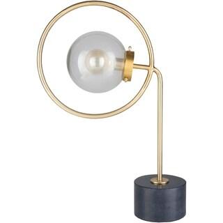 Tywyn 27.5 in. Gold Modern Table Lamp