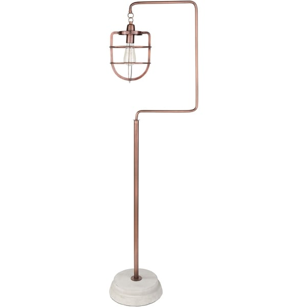 Kosage 60.5 in. Copper Modern Floor Lamp