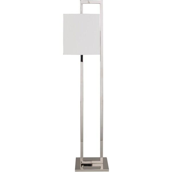 Jaelyn 57 in. White Modern Floor Lamp