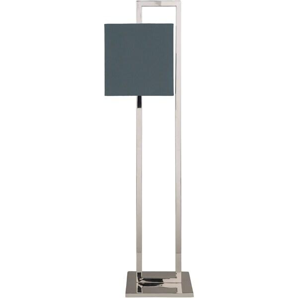 Jaelyn 57 in. Blue Industrial Floor Lamp