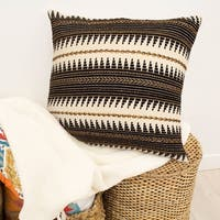 Jean Pierre Jayce Hand Beaded Decorative Pillow