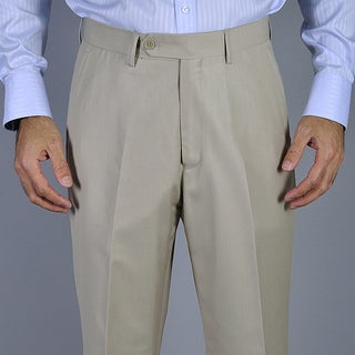 Men's Bone Flat Front Pants Size 36R (As Is Item)