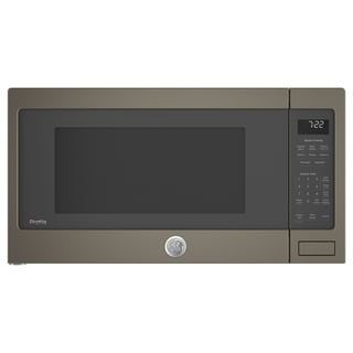 GE Profile Series 2.2 Cu. Ft. Countertop Sensor Microwave Oven in Slate