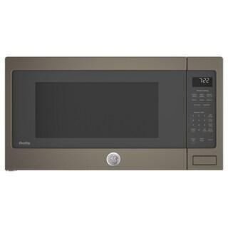 GE Profile Series 2.2 Cu. Ft. Countertop Sensor Microwave Oven in Slate