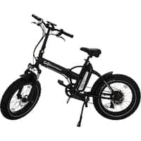 "GoPowerBike Electric Bicycle 500W Removable 48V Battery 20"" Fat Tire"