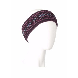 Laundromat Salem Black Fashion Wool Headband