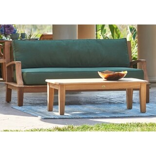 Grande Outdoor Teak Lounge Sofa