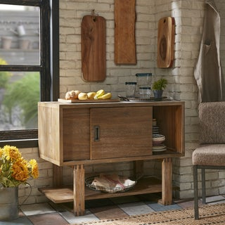 """Ink+Ivy Zen Reclaimed Natural Wood Sideboard - 40""""w x 18""""d x 31.5""""h"""
