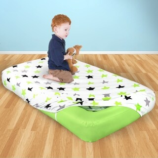 Air Comfort Dream Easy Kids Air Mattress with Cover - Green
