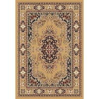 "Chelsea Traditional Persian Beige Area Rug - 6'7"" x 9'6"""