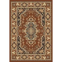 Chelsea Traditional Persian Brown Area Rug - 9'2 x 12'6