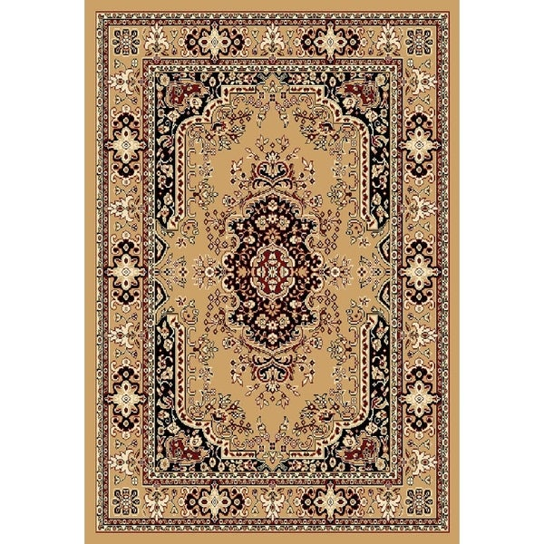 "Chelsea Traditional Persian Beige Area Rug - 9'2"" x 12'6"""