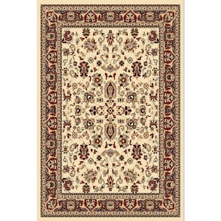 "Chelsea Traditional Oriental Ivory Area Rug - 3'6"" x 5'3"""