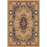 Chelsea Traditional Persian Beige Round Area Rug - 7'9 x 7'9