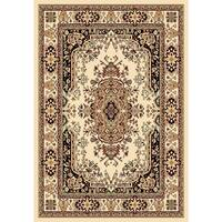 "Chelsea Traditional Persian Ivory Area Rug - 3'6"" x 5'3"""
