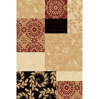 "Chelsea Alexandria Floral Multi Color Runner Rug (1'10"" x 7'3"")"