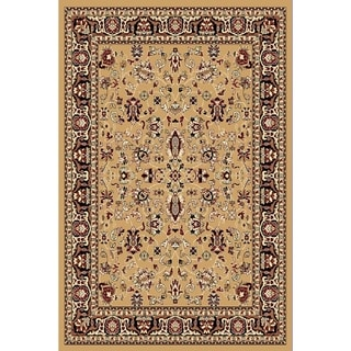 "Chelsea Traditional Oriental Beige Area Rug - 3'6"" x 5'3"""