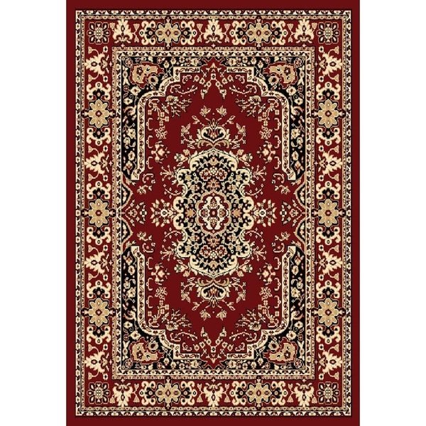 "Chelsea Traditional Persian Red Runner Rug - 1'10"" x 7'3"""