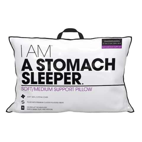I AM A Stomach Sleeper - White
