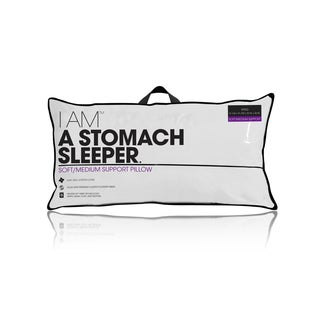 I AM A Stomach Sleeper - White