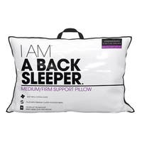 I AM a Density Back Sleeper Pillow - White