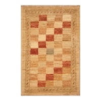 Handmade Herat Oriental Afghan Hand-knotted Vegetable Dye Wool Accent Rug (1'5 x 2'2) - 1'5 x 2'2