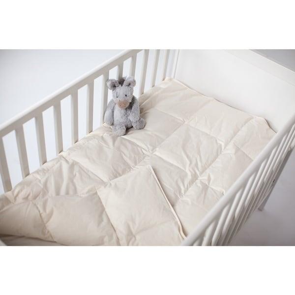 Organic Extra Lightweight Crib Comforter for a Healthier Night's Sleep