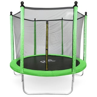 Pure Fun Dura-Bounce 8-Foot Trampoline with Enclosure