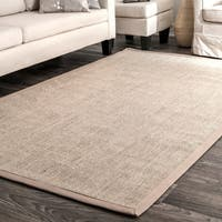 Oliver & James Corday Natural Sisal Beige Area Rug - 3' x 5'