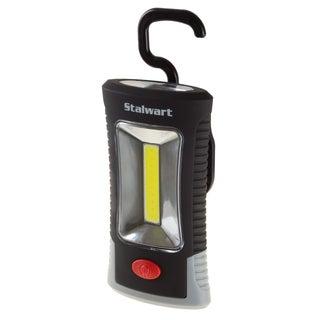 COB LED Compact Work Light- 100 Lumen 3-watt COB 3 SMD Flashlight With 100,000 Hour Lifespan by Stalwart (Black)