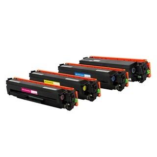 HP CF410X CF411X CF412X CF413X Compatible Black Cyan Magenta Yellow Toner Cartridge Set
