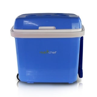NutriChef PKTCEC32SL Electric Cooler & Warmer with Thermo Heating Ability, 30+ Liter
