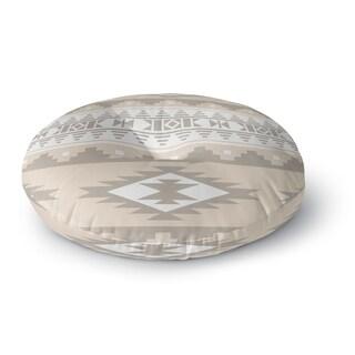 Kavka Designs Cherokee Tan Floor Pillow