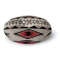 Kavka Designs Cherokee  Red Floor Pillow