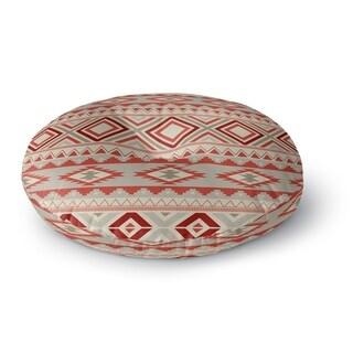 Kavka Designs Yuma Red/Tan/Ivory Floor Pillow