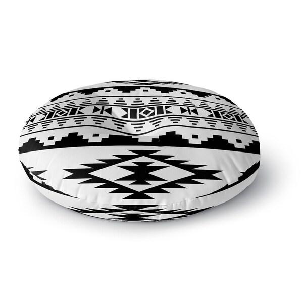 Kavka Designs Cherokee Black Floor Pillow