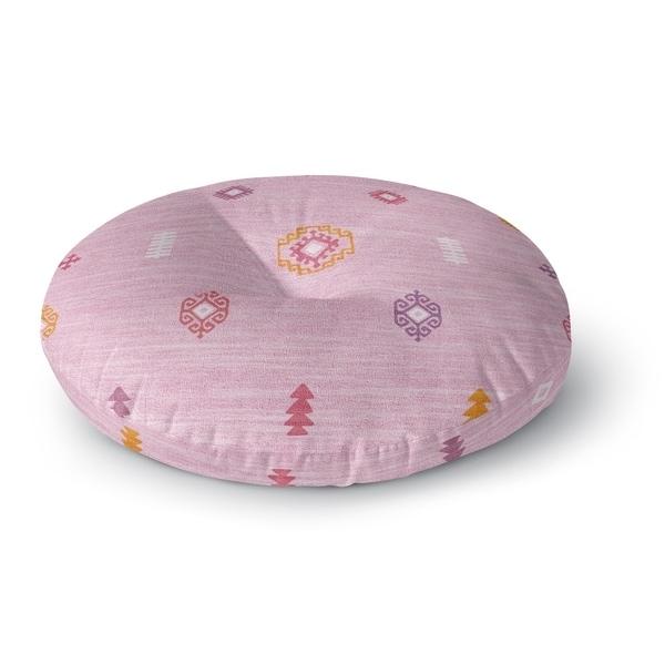 Kavka Designs Barroui Pink Floor Pillow
