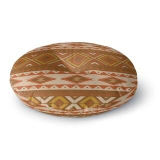 Kavka Designs Sedona Brown/Gold/Tan Floor Pillow