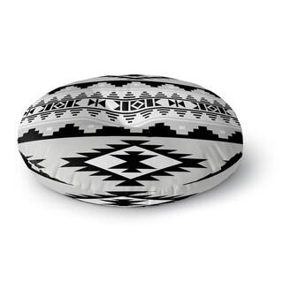 Kavka Designs Cherokee Grey Floor Pillow