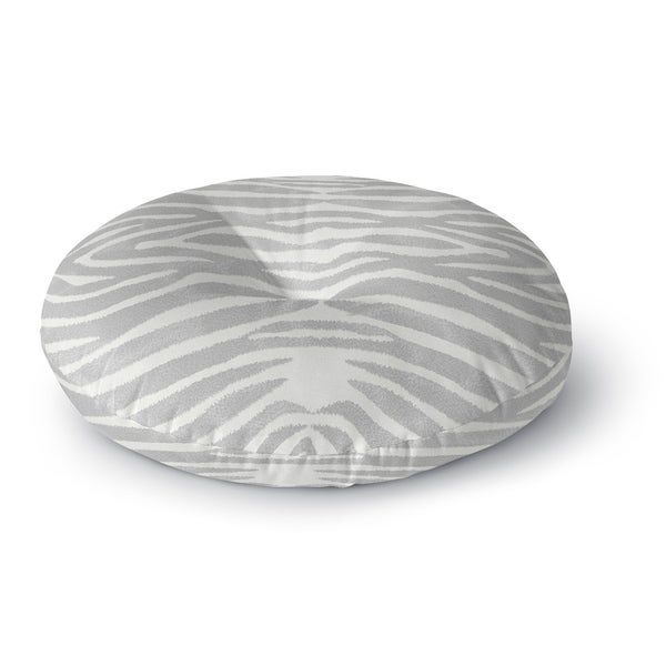Kavka Designs Safari Grey/Ivory Floor Pillow