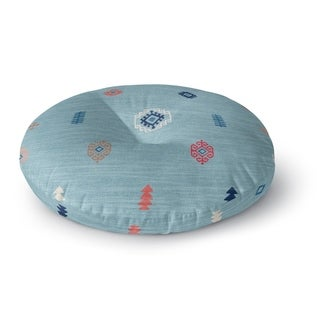 Kavka Designs Calibishie Blue Floor Pillow