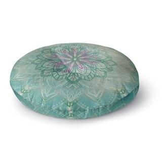 Kavka Designs Mermaid Mandala Blue/Purple/Pink Floor Pillow