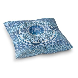 Kavka Designs Elle Blue Floor Pillow