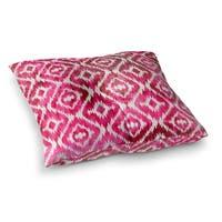 Kavka Designs Omari Pink  Pink Floor Pillow