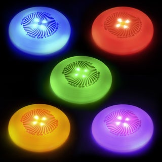 GoSports LED Light Up Multi-Color Disc (Rotate Between 5 Solid Colors)