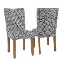 HomePop Parsons Dining Chair - Indigo (set of 2)