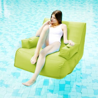 Miami Lime Inflatable Lounge Pool Float